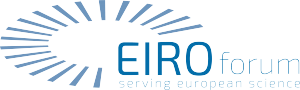 Logo EIROforum with claim - colour