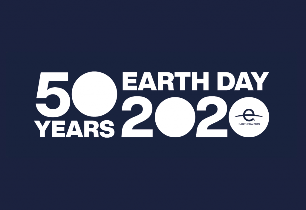 Logo for Earth Day 2020