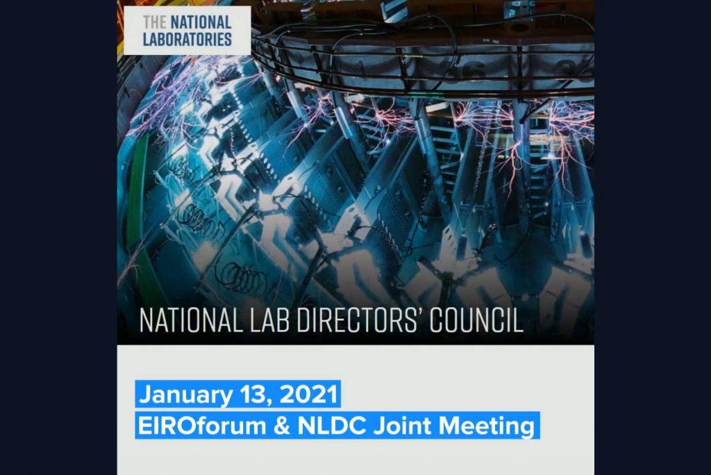 NLDC and EIROforum meeting - Teaser image