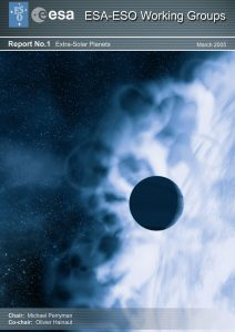 ESA-ESO WG report on Extrasolar Planets (March 2005)