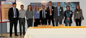 The speakers from the EIROforum member organisations at the Spotlight on Science event