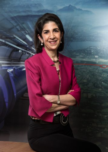 Portrait of Dr. Fabiola Gianotti, CERN's Director-General