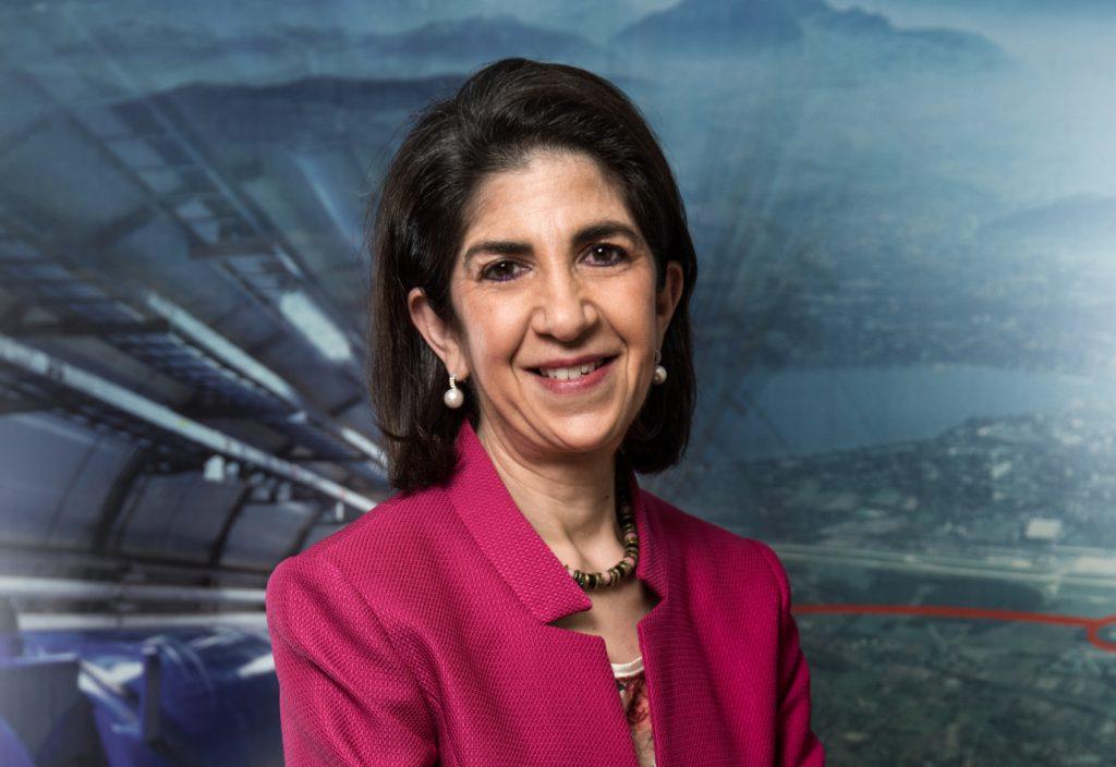 Portrait of Dr. Fabiola Gianotti, CERN's Director-General