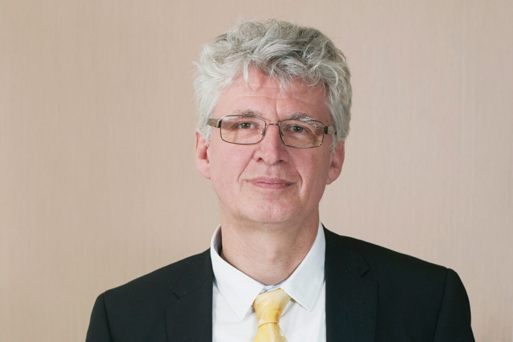 Professor Helmut Schober, ILL Director