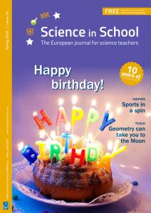 Science in School cover - Issue35