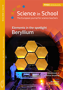 Science in School cover - Issue45