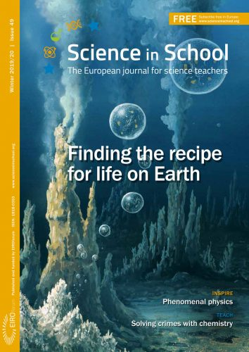 Science in School cover - issue 49