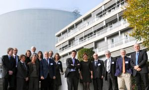 The Directors General of the EIROforum member organisations at their General Assembly at the ILL in Grenoble, France.